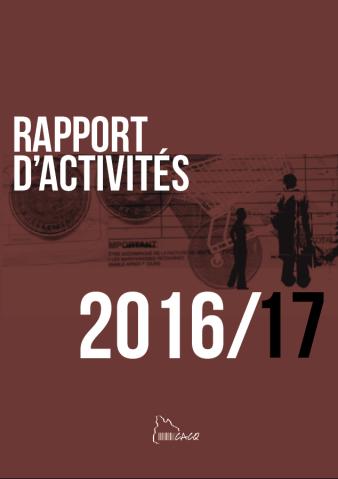 Rapport d'activités 2016::17